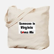 Virginia Loves Me Tote Bag