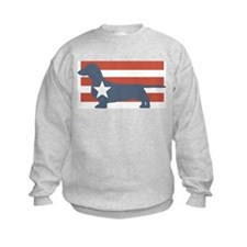 Patriotic Dachshund Sweatshirt