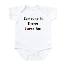 Texas Loves Me Infant Bodysuit