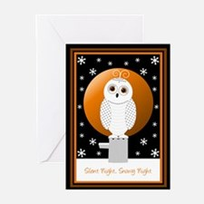 Snowy Owl Greeting Cards (Pk of 20)