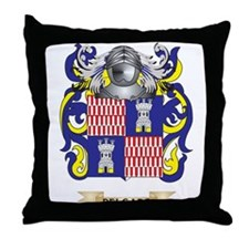 Defiling Coat of Arms Throw Pillow