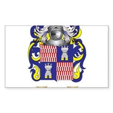 Defiling Coat of Arms Decal
