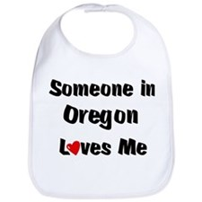 Oregon Loves Me Bib