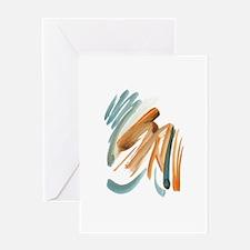 Abstract Nada Greeting Card