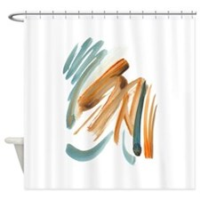 Abstract Nada Shower Curtain