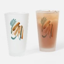 Abstract Nada Drinking Glass