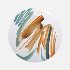 Abstract Nada Ornament (Round)