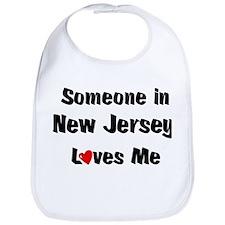 New Jersey Loves Me Bib