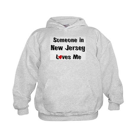 New Jersey Loves Me Kids Hoodie