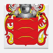 Del Bosco Coat of Arms Tile Coaster