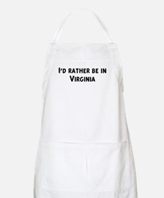 Rather be in Virginia BBQ Apron
