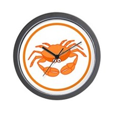 Cute Crab Wall Clock