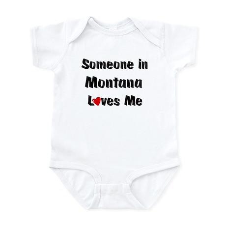 Montana Loves Me Infant Bodysuit