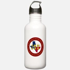 Texas Civil War Logo Water Bottle