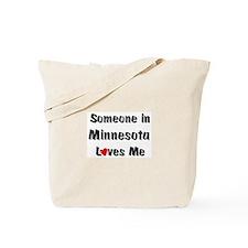 Minnesota Loves Me Tote Bag