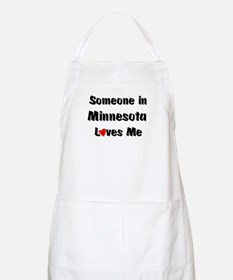 Minnesota Loves Me BBQ Apron