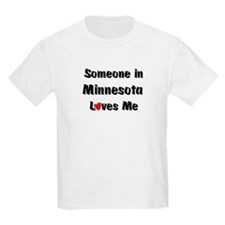 Minnesota Loves Me Kids T-Shirt