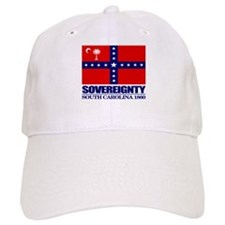 SC Sovereignty Flag Baseball Baseball Cap