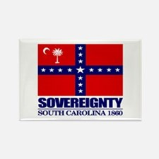 SC Sovereignty Flag Rectangle Magnet (10 pack)