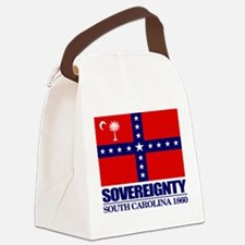 SC Sovereignty Flag Canvas Lunch Bag