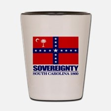 SC Sovereignty Flag Shot Glass