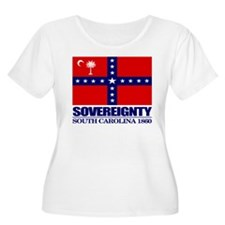 SC Sovereignty Flag Plus Size T-Shirt