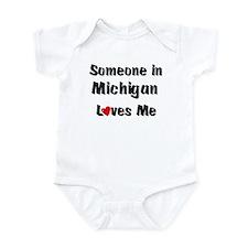 Michigan Loves Me Infant Bodysuit