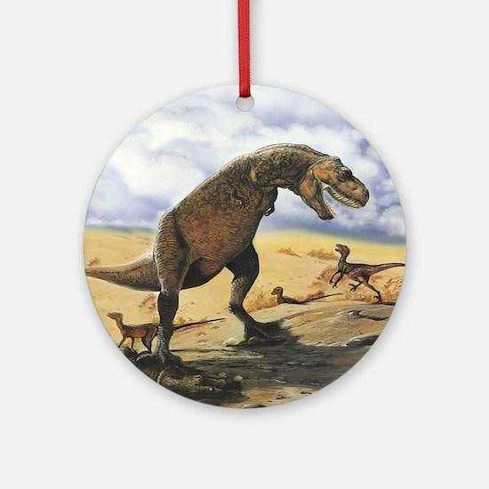 Dinosaur T-Rex Ornament (Round)