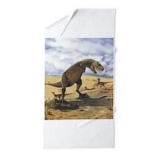 Dinosaur T-Rex Beach Towel
