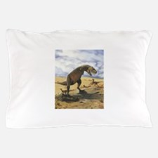 Dinosaur T-Rex Pillow Case
