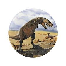 "Dinosaur T-Rex 3.5"" Button"