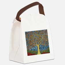 Funny Tree Canvas Lunch Bag