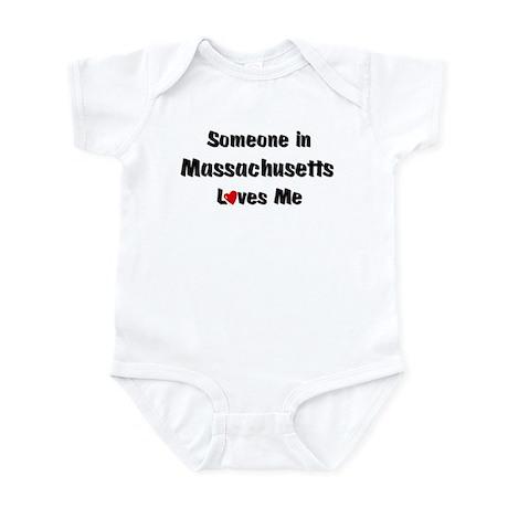 Massachusetts Loves Me Infant Bodysuit