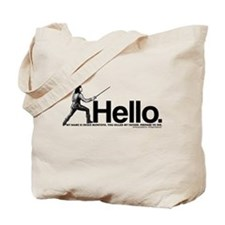 Princess Bride Inigo Montoya Tote Bag