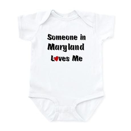 Maryland Loves Me Infant Bodysuit