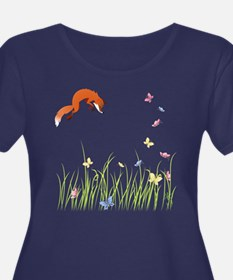 Fox Plus Size T-Shirt