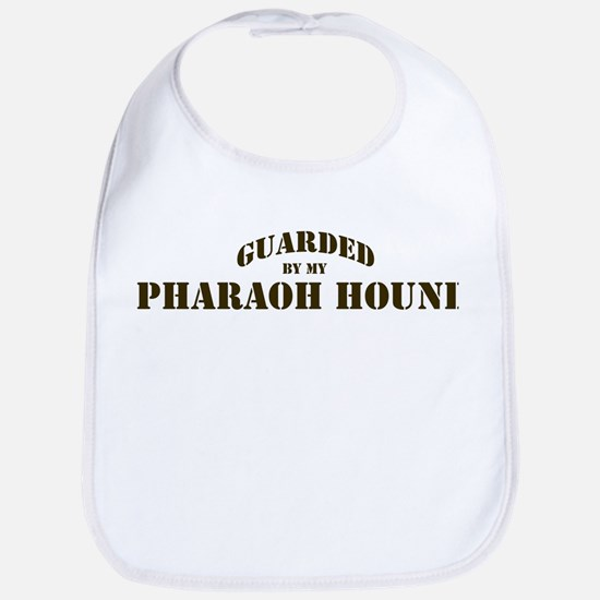 Pharaoh Hound: Guarded by Bib