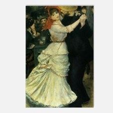Dance at Bougival by Reno Postcards (Package of 8)