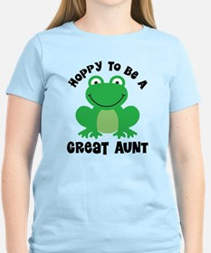 Hoppy to be a Great Aunt T-Shirt