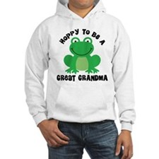 Hoppy to be a Great Grandma Jumper Hoody
