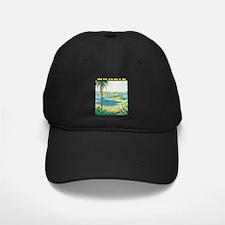 Brazil Travel Poster Baseball Hat