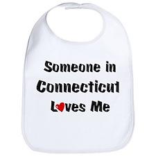 Connecticut Loves Me Bib