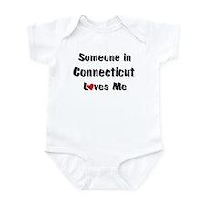Connecticut Loves Me Infant Bodysuit