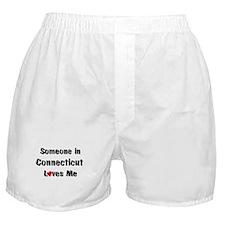 Connecticut Loves Me Boxer Shorts