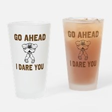 I Dare You Drinking Glass