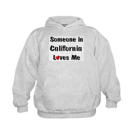 California Loves Me Kids Hoodie