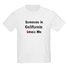 California Loves Me Kids T-Shirt