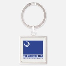 Moultrie Flag Keychains