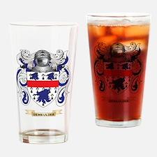 Delgado Coat of Arms Drinking Glass