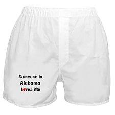 Alabama Loves Me Boxer Shorts